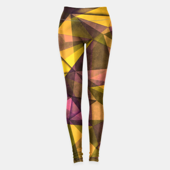Thumbnail image of geometric pattern Legginsy, Live Heroes