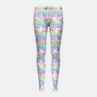 Thumbnail image of 6x6 Girl's Leggings, Live Heroes