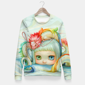 Miniature de image de Pop Goes The Weasel Fitted Sweater, Live Heroes