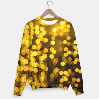 Thumbnail image of Golden Xmas Lights Sweater, Live Heroes