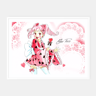Miniaturka Cute Sweetie - Claire Sign Framed poster, Live Heroes