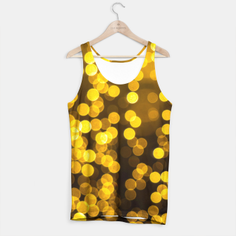 Thumbnail image of Golden Xmas Lights Tank Top, Live Heroes