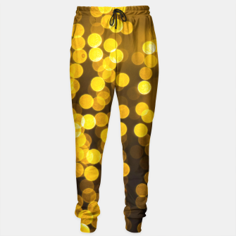 Thumbnail image of Golden Xmas Lights Sweatpants, Live Heroes