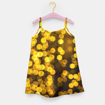 Thumbnail image of Golden Xmas Lights Girl's Dress, Live Heroes