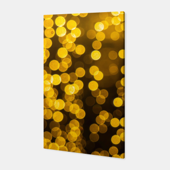 Thumbnail image of Golden Xmas Lights Canvas, Live Heroes