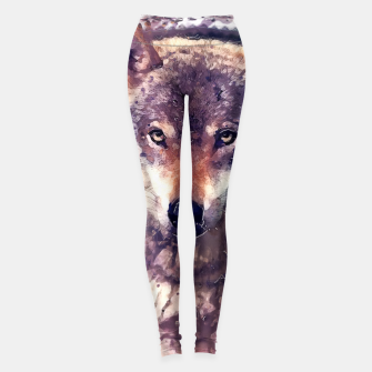 Thumbnail image of wolf Legginsy, Live Heroes