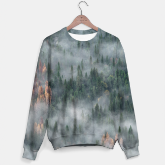 Thumbnail image of Foggy Yosemite Forest Sweater, Live Heroes