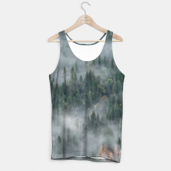 Thumbnail image of Foggy Yosemite Forest Tank Top, Live Heroes