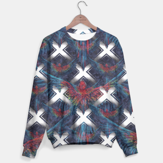 Thumbnail image of Rainbow Parrot Sweater, Live Heroes