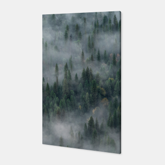 Thumbnail image of Foggy Yosemite Forest Canvas, Live Heroes