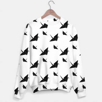 Thumbnail image of Origami Tsuru Light Sweater, Live Heroes