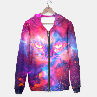 Thumbnail image of Space Cat Hoodie, Live Heroes