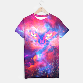 Thumbnail image of Space Cat T-shirt, Live Heroes
