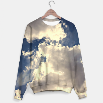 Thumbnail image of Summer Cloudy Sky Sweater, Live Heroes