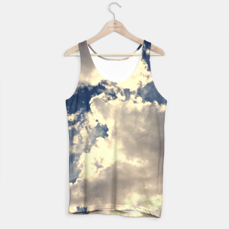 Thumbnail image of Summer Cloudy Sky Tank Top, Live Heroes