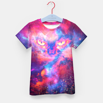 Thumbnail image of Space Cat Kid's T-shirt, Live Heroes