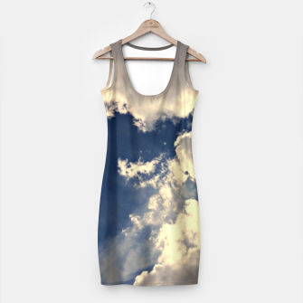 Miniaturka Summer Cloudy Sky Simple Dress, Live Heroes