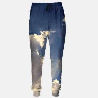 Thumbnail image of Summer Cloudy Sky Sweatpants, Live Heroes