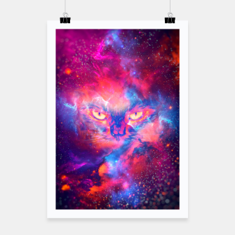 Miniaturka Space Cat Poster, Live Heroes