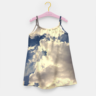 Thumbnail image of Summer Cloudy Sky Girl's Dress, Live Heroes