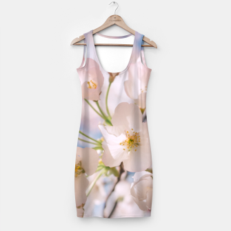 Miniaturka White Spring Cherry Trees Blossom Simple Dress, Live Heroes