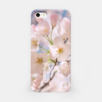 Imagen en miniatura de White Spring Cherry Trees Blossom iPhone Case, Live Heroes