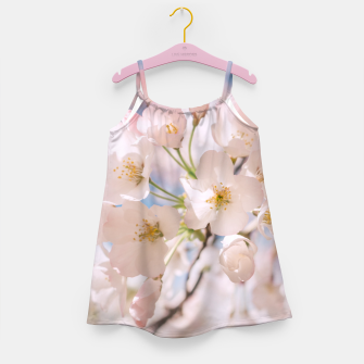 Thumbnail image of White Spring Cherry Trees Blossom Girl's Dress, Live Heroes