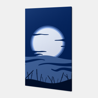 Thumbnail image of Oriental Battlefield Night Canvas, Live Heroes