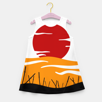 Thumbnail image of Oriental Battlefield Day Girl's Summer Dress, Live Heroes