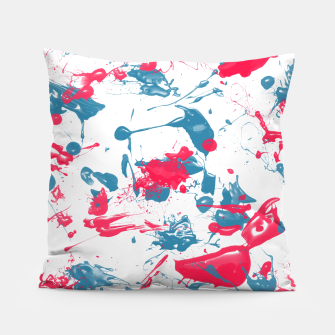Imagen en miniatura de blue and pink splash Pillow, Live Heroes