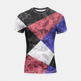 Miniature de image de Marble Geometric Background G435 Shortsleeve Rashguard, Live Heroes