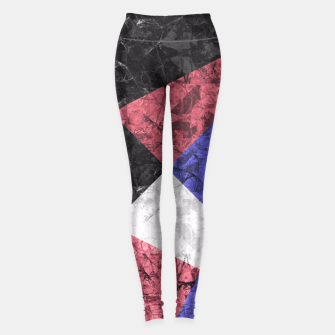 Miniaturka Marble Geometric Background G435 Leggings, Live Heroes