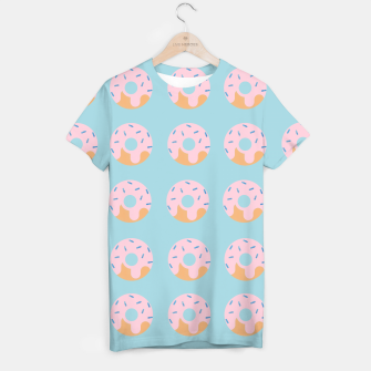 Thumbnail image of Sweet Doughnuts with pink icing T-shirt, Live Heroes