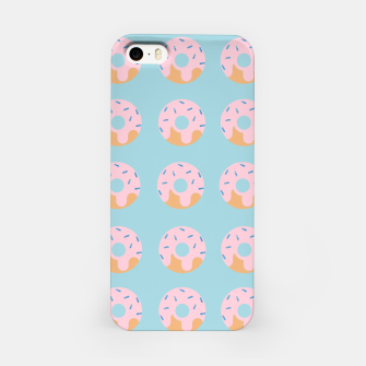 Thumbnail image of Sweet Doughnuts with pink icing iPhone Case, Live Heroes