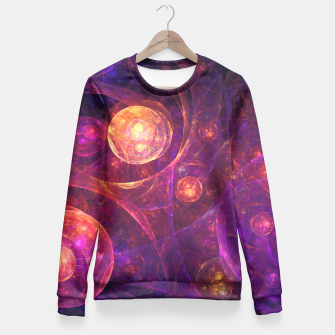 Miniaturka Galaxy Space Fitted Waist Sweater, Live Heroes