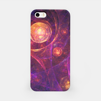 Miniatur Galaxy Space iPhone Case, Live Heroes