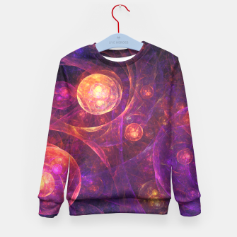 Miniatur Galaxy Space Kid's Sweater, Live Heroes