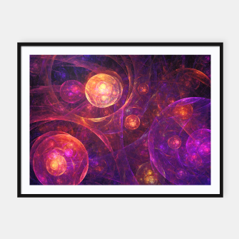 Miniaturka Galaxy Space Framed poster, Live Heroes