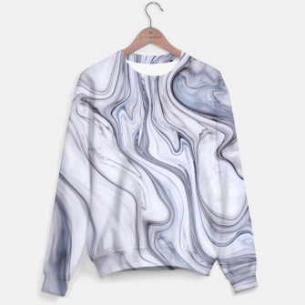Miniatur Gray Marble Sweater, Live Heroes
