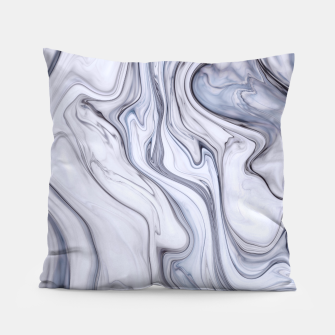 Miniatur Gray Marble Pillow, Live Heroes