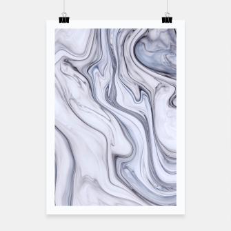 Miniaturka Gray Marble Poster, Live Heroes