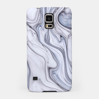 Miniatur Gray Marble Samsung Case, Live Heroes
