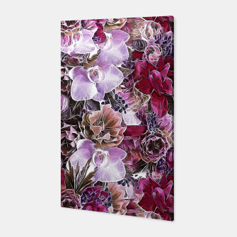 Thumbnail image of Flowers in my garden two Canvas, Live Heroes