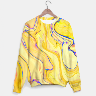 Miniatur Yellow Marble Sweater, Live Heroes