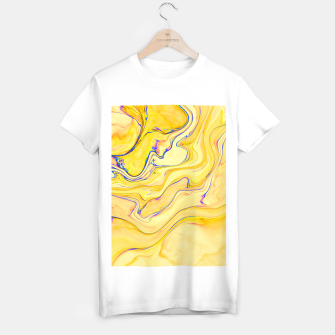 Miniaturka Yellow Marble T-shirt regular, Live Heroes