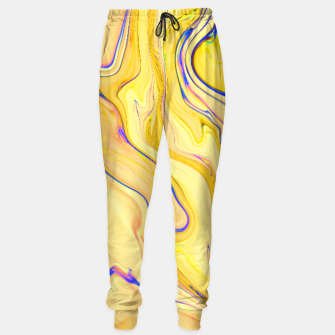 Miniaturka Yellow Marble Sweatpants, Live Heroes