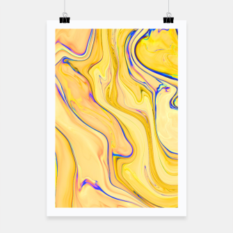 Miniaturka Yellow Marble Poster, Live Heroes