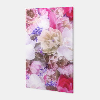 Thumbnail image of Flowers in my garden Canvas, Live Heroes