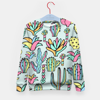 Miniatur Succulents Kid's Sweater, Live Heroes