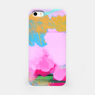 Miniatur Pink Clouds iPhone Case, Live Heroes
